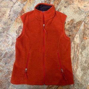 Patagonia Synchilla Vest Burnt Orange Medium